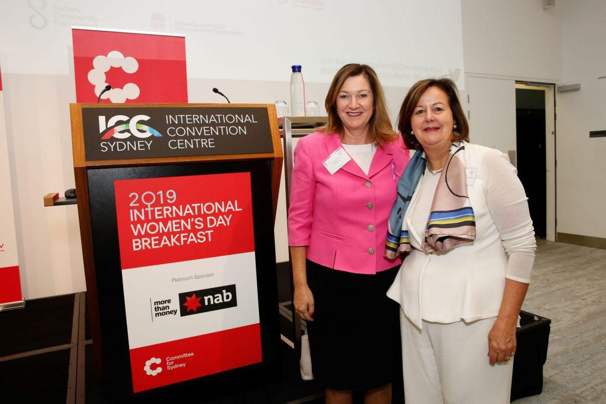 Committee for Sydney, Sydney Community Foundation, Sydney Women's Fund, Jane Jose, Lyn Lewis-Smith, Business Events Sydney, BE Sydney