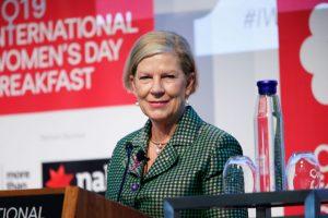 Ann Sherry, Committee for Sydney, Sydney Women's Fund, International Women's Day, Plan International