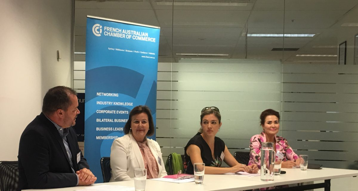 French Australian Chamber Commerce, Sydney Women's Fund, International Women's Day, Jane Jose