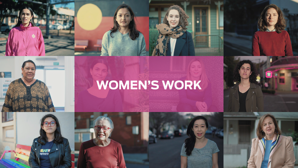 Sydney Community foundation, Sydney Women's Fund, Newtown, women's work