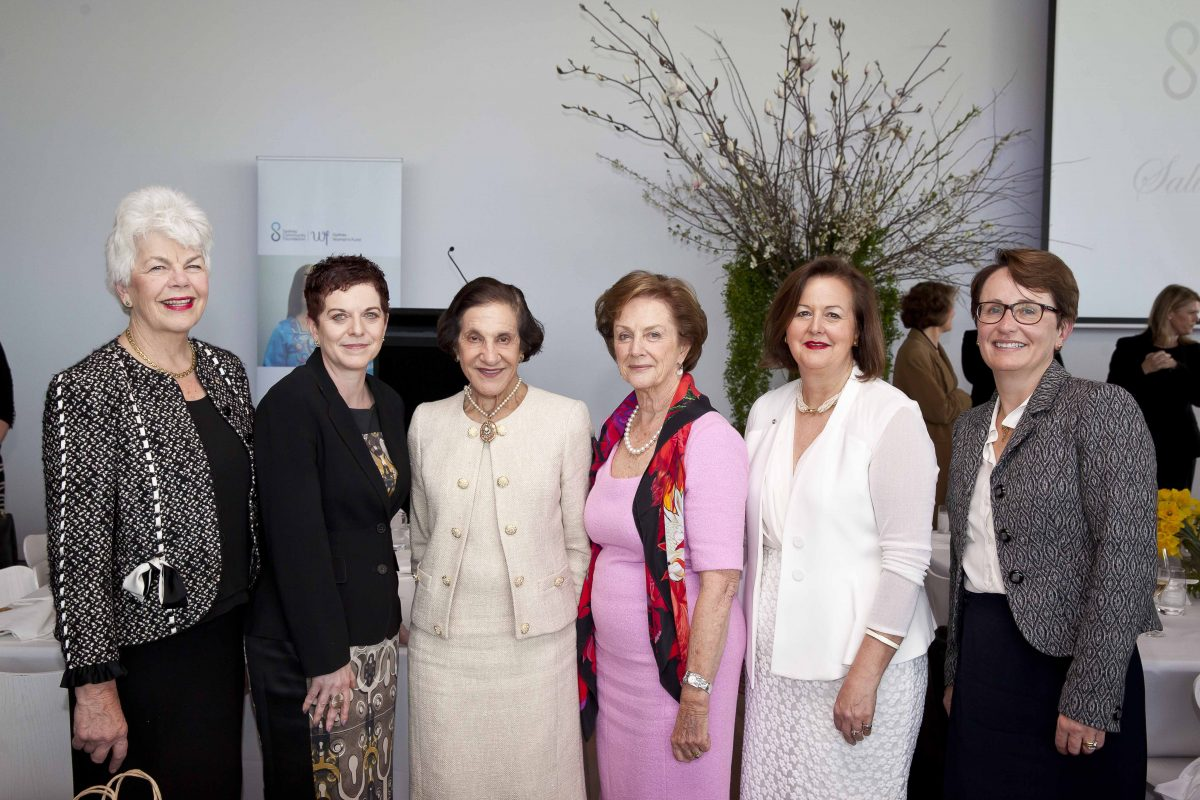 Sydney Community Foundation, Sydney Women's Fund, Jane Jose, Rosalind Strong, Deanne Weir, Dame Bashir, NSW Governor,