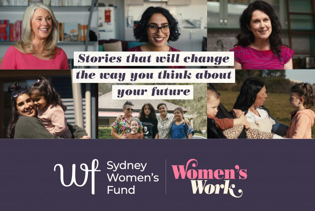 Tracey Spicer, Mariam Mohammed, Annabel Crabb, Malabar Midwives, Jess & Bern, Rainbow Families, Children's Hospital, Indigenous Health, Sydney Women's Fund, Women's Work